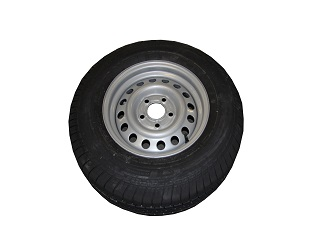 Kompletta hjul - Sommardäck 185R14C Plåt 5x112