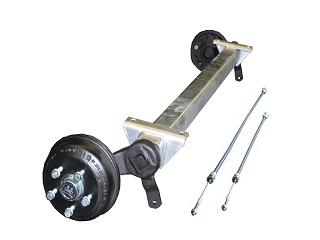 Axle CB 1355 kg, Eco, small pad 1100