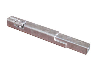 Rear corner post 40 cm, right, for model Cobalt H with no pendualting rear wall