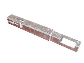 Förhöjningsstolpe 30 cm, galvaniserad