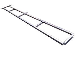 Wire rack Azue L, 300X75 cm
