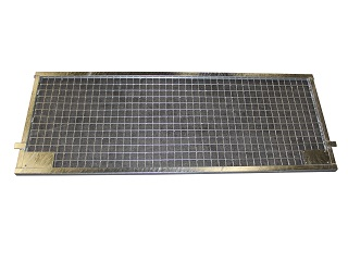 Rear weldmesh extension 150x55, for model Cobalt H, with lock