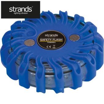 Strands Varnings-/blixtljus PUCKEN, blå