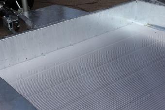 Aluminiumplåt för flakmått 605x240 cm