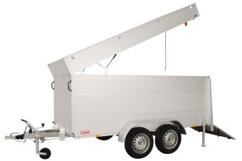 Anssems skåpsläp GTT 2500 VT4 - 2500 kg 301x151x188 cm