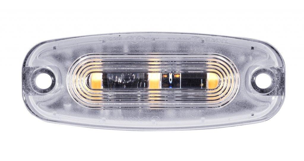 Swedstuff Blixtljus 3 LED Orange 12-24V DC, 12W, 26 mönster