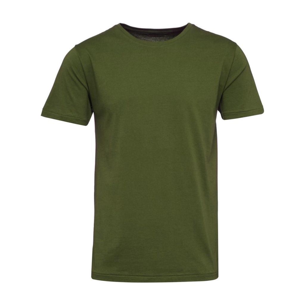 Basic T-shirt - Mossgrön