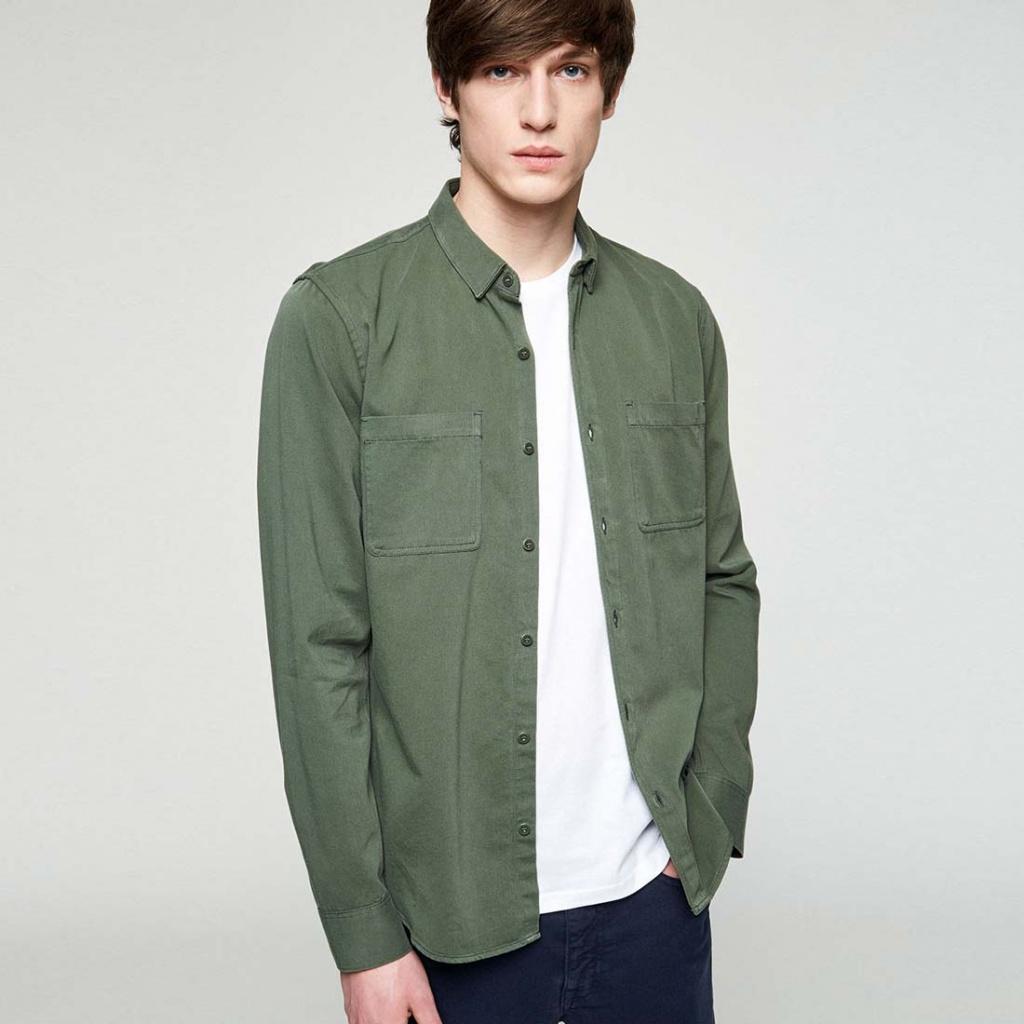 Nathan - Green Olive