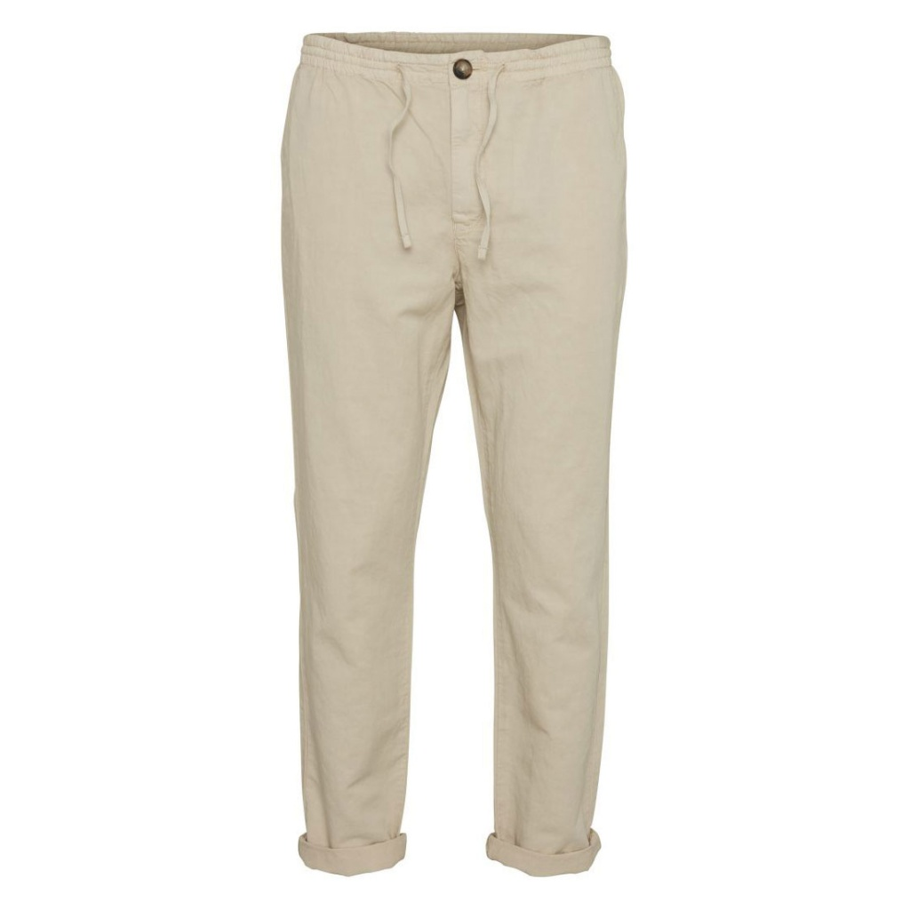 Garment Dyed Chinos - Featehr Grey