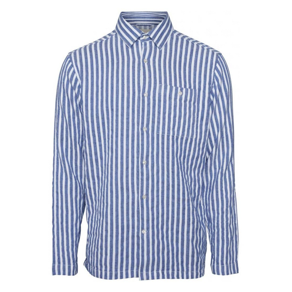 Larch L/S - Striped Shirt