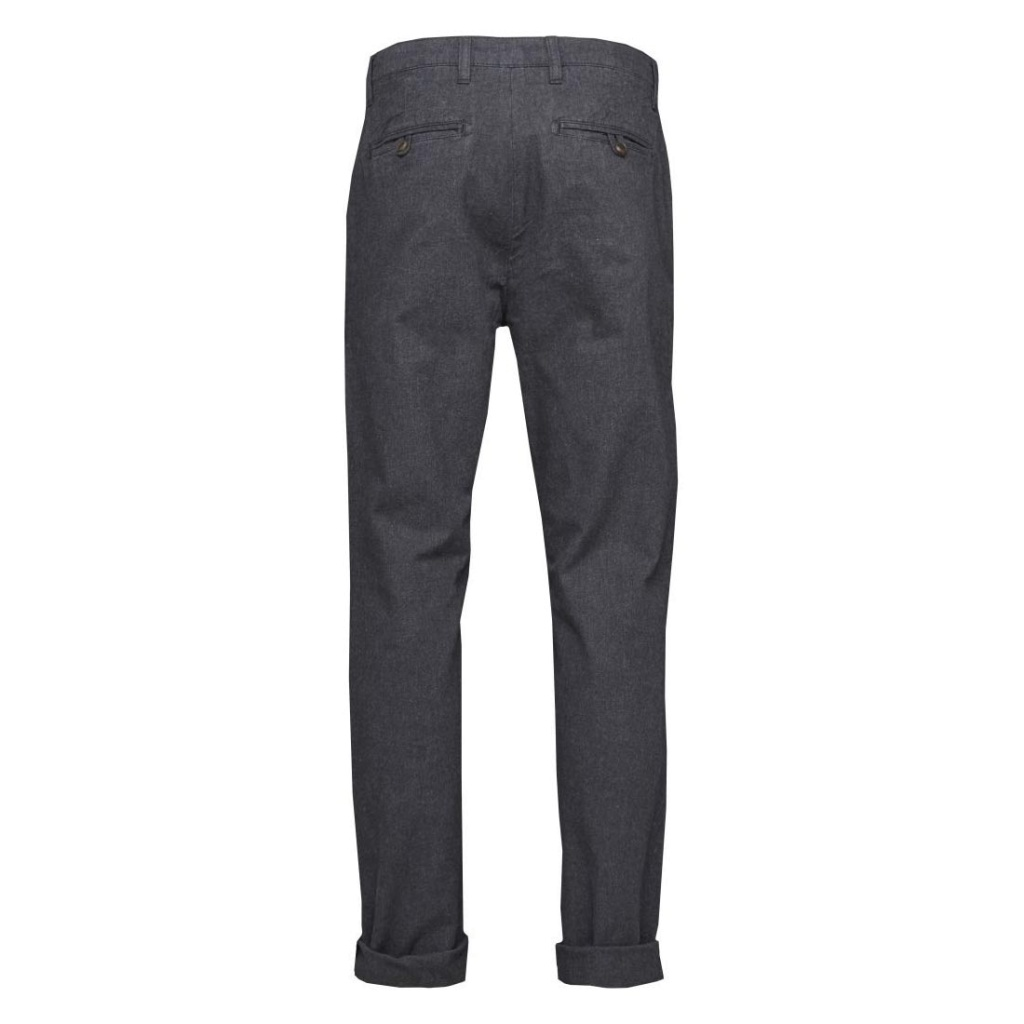Twill Flannel Chinos -Total Eclipse