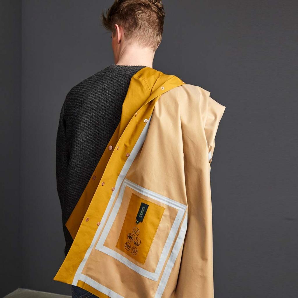 Orland Organic Raincoat - Madras