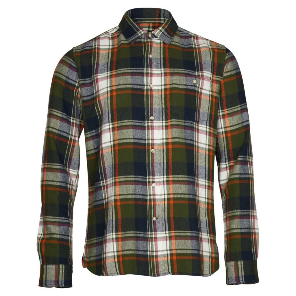 Checked Flannel  - Black Forest