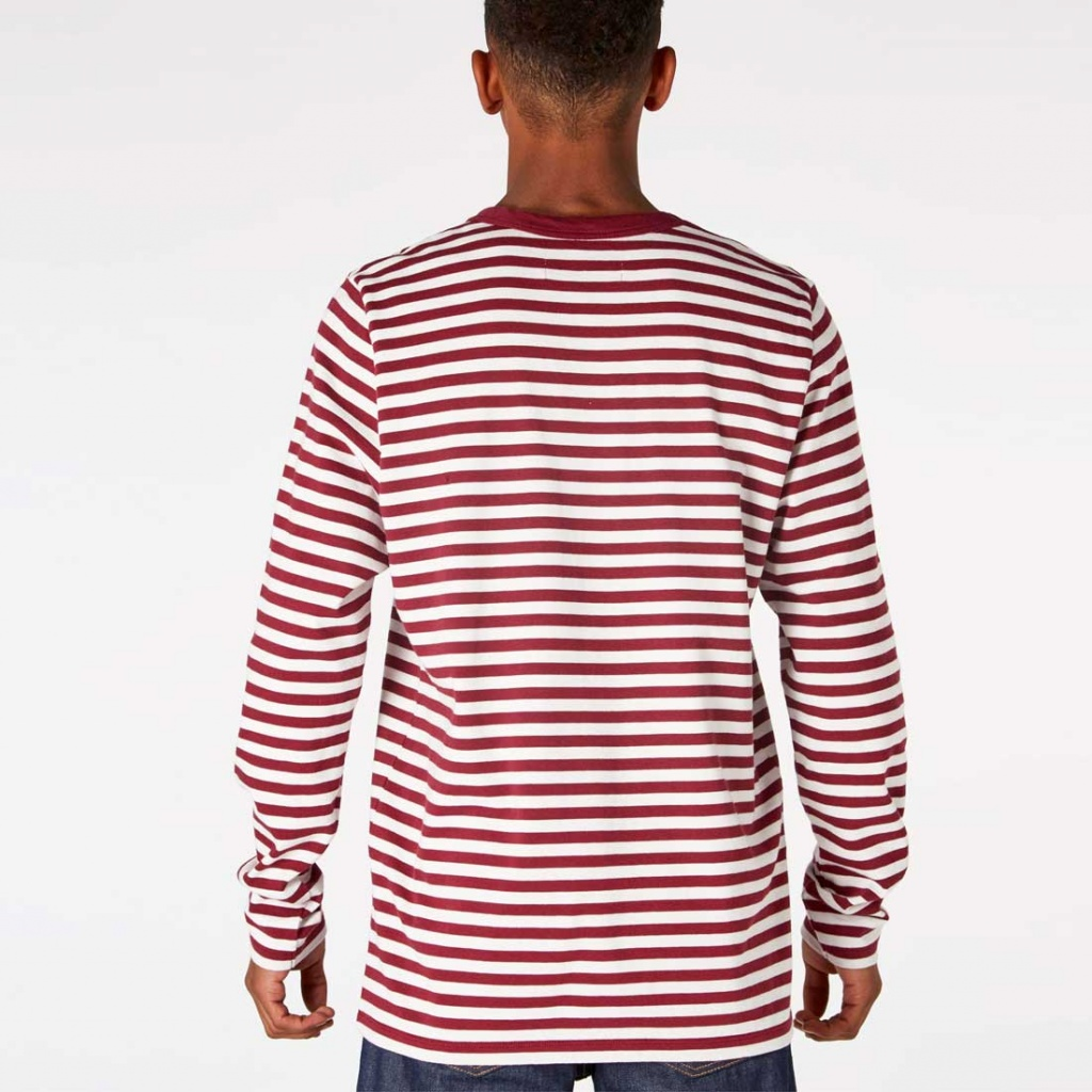 Nezer Cordovan Stripe - Red