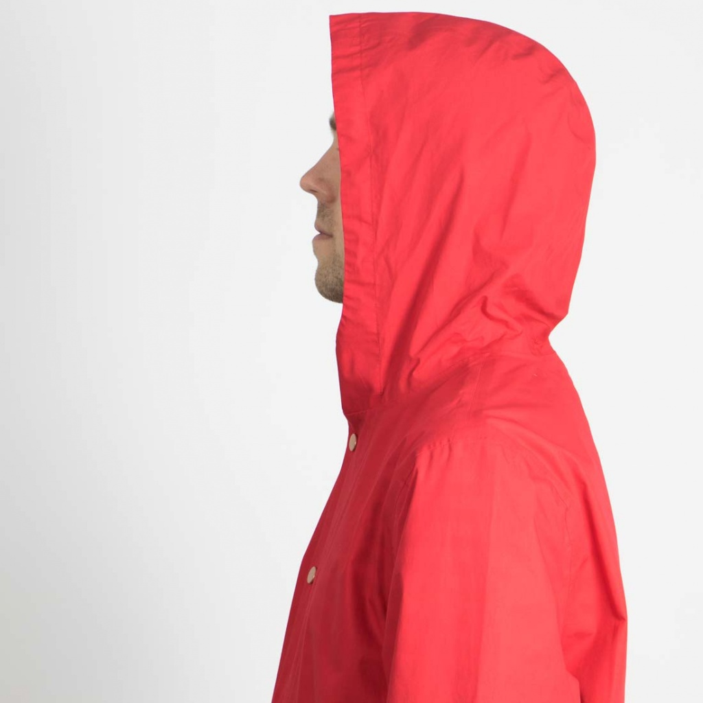 Owen Rain Jacket BP - Fury