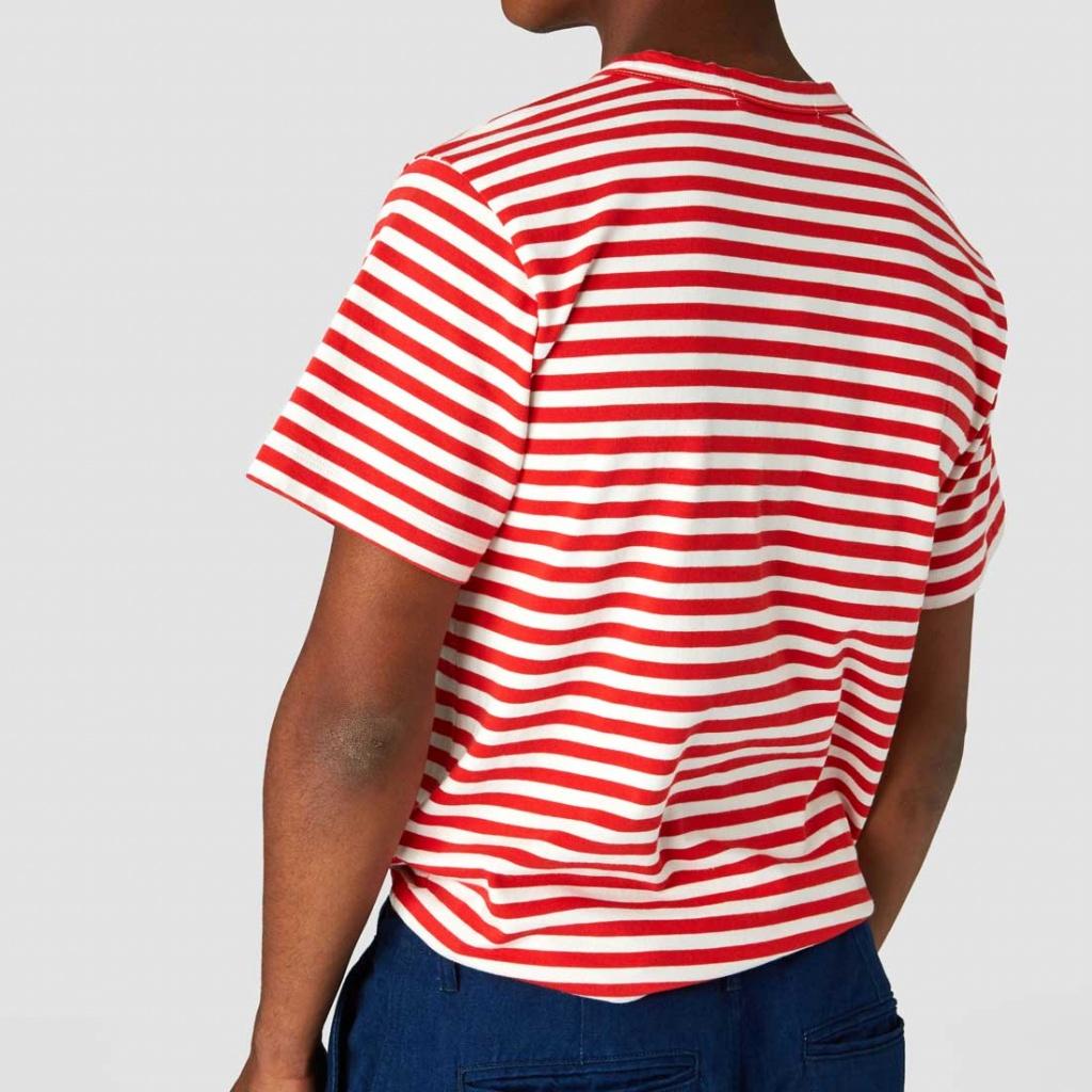 Darius - Poppy Red Stripe