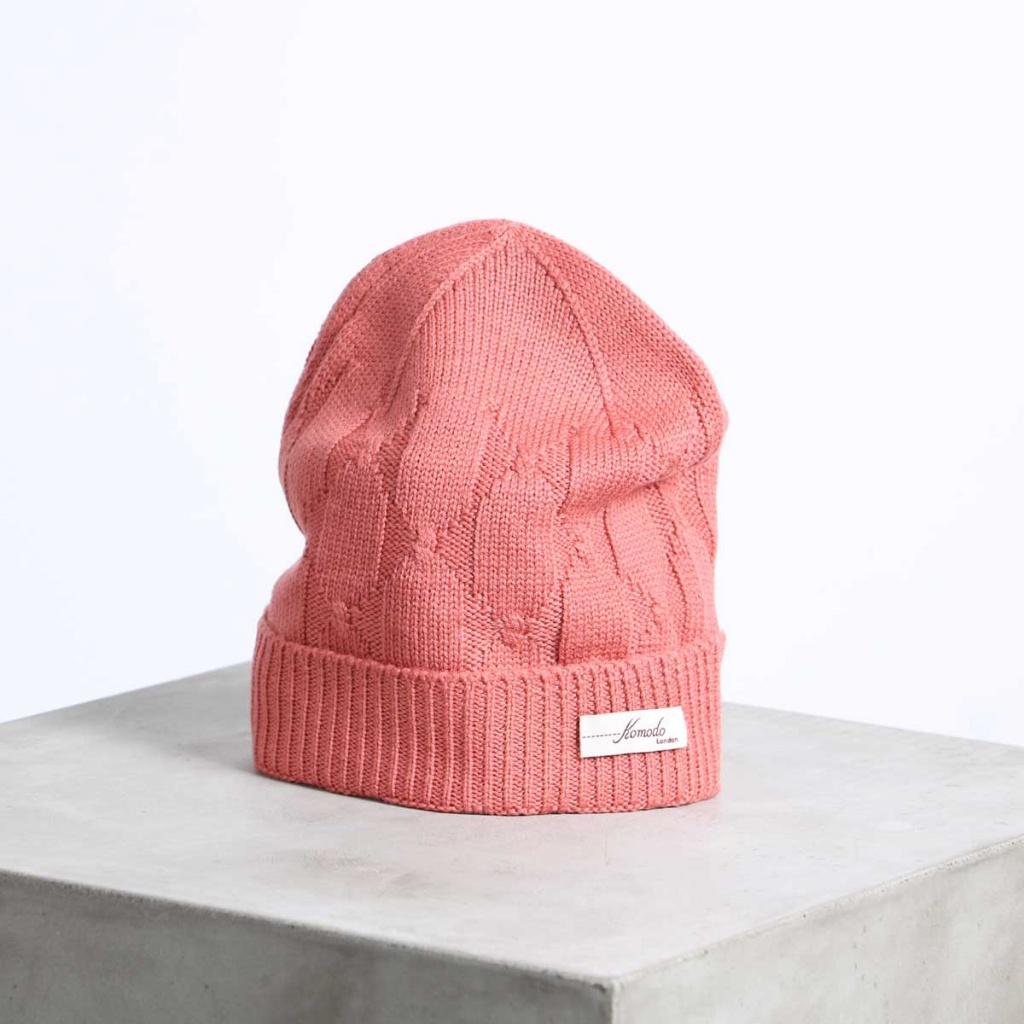 Delphi Hat - Rose