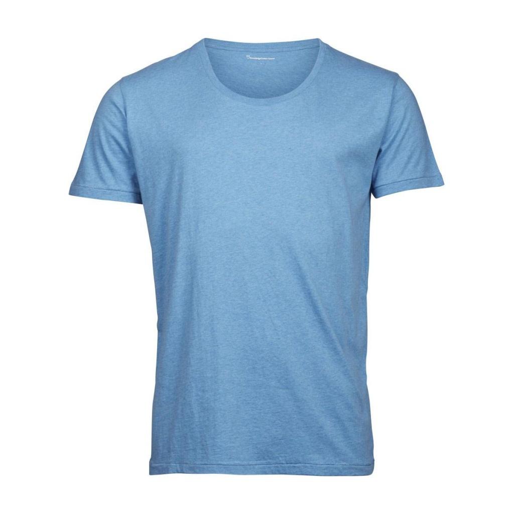 Basic T-Shirt - Skyway Melange