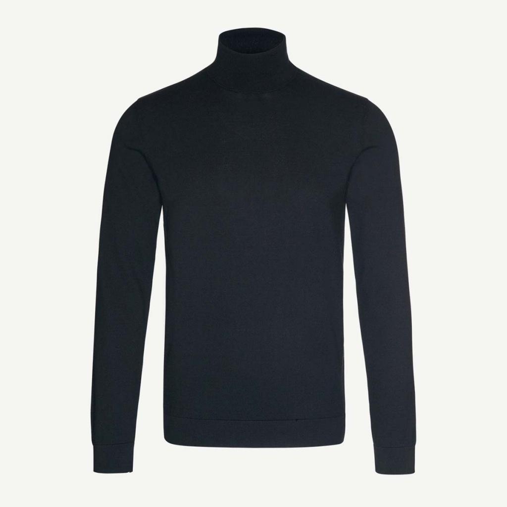 Glen Organic Polo - Black