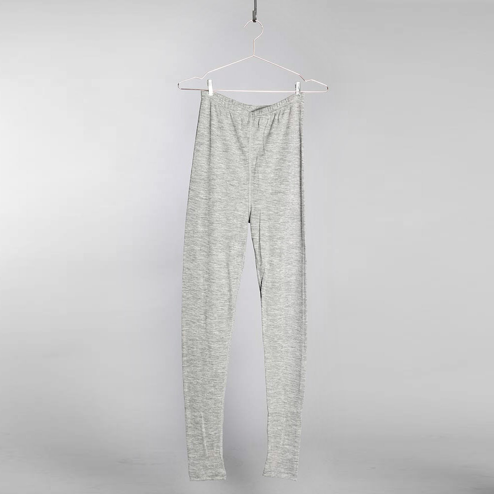Merino Silk Leggings DAM - Grey