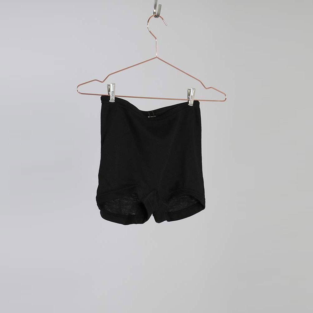 Merino Silk Panties - Black