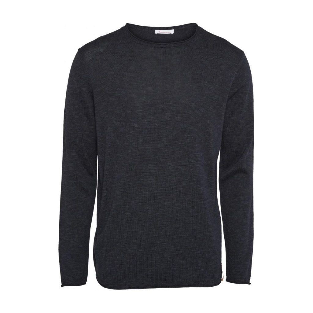 Forrest O-Neck Knit - Navy