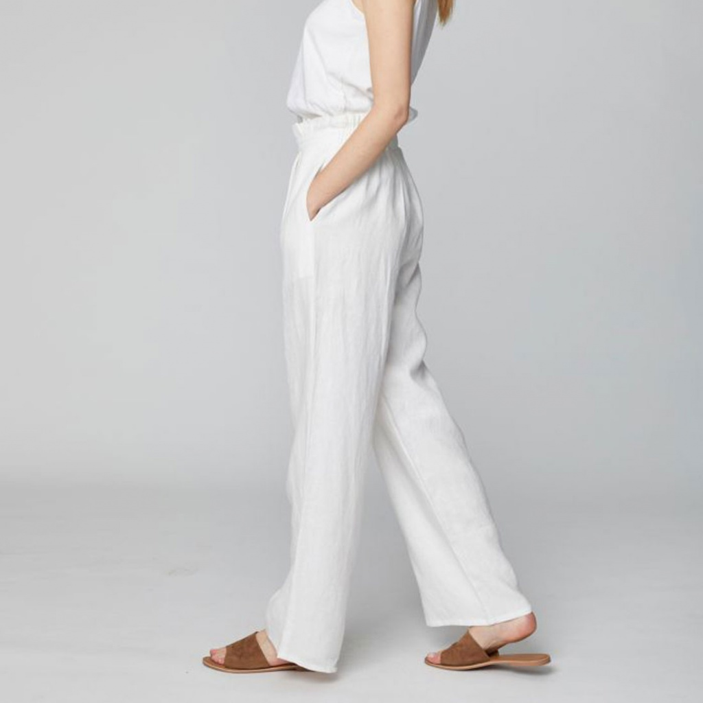 Rosabel Hemp - White