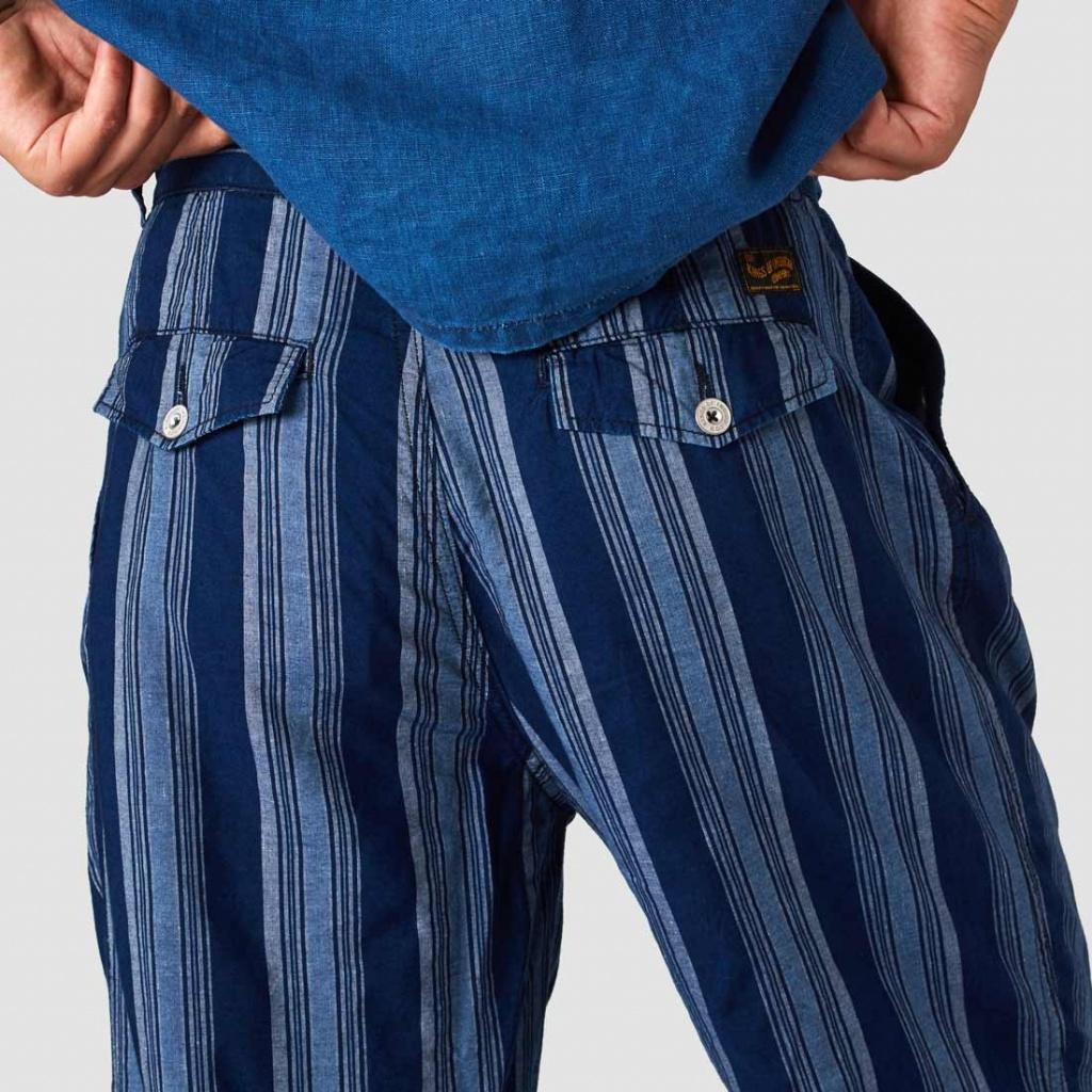 Henri - Linen Stripe