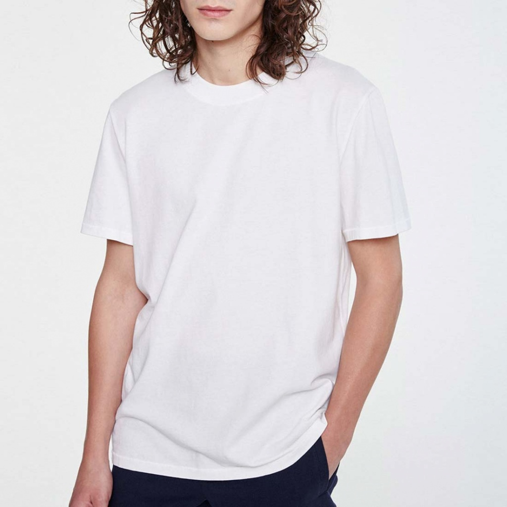 2b6cc6013393 Basic T-Shirt - Knowledge Cotton Apparel