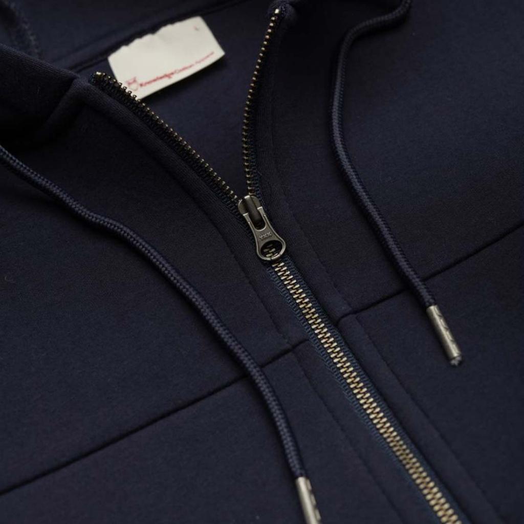 Neopren Zip Hood - Navy