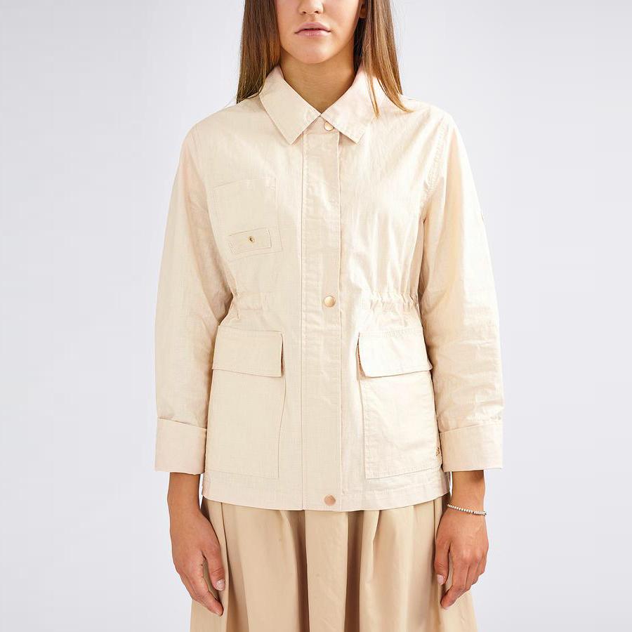 Dawn Linen Jacket - Grain