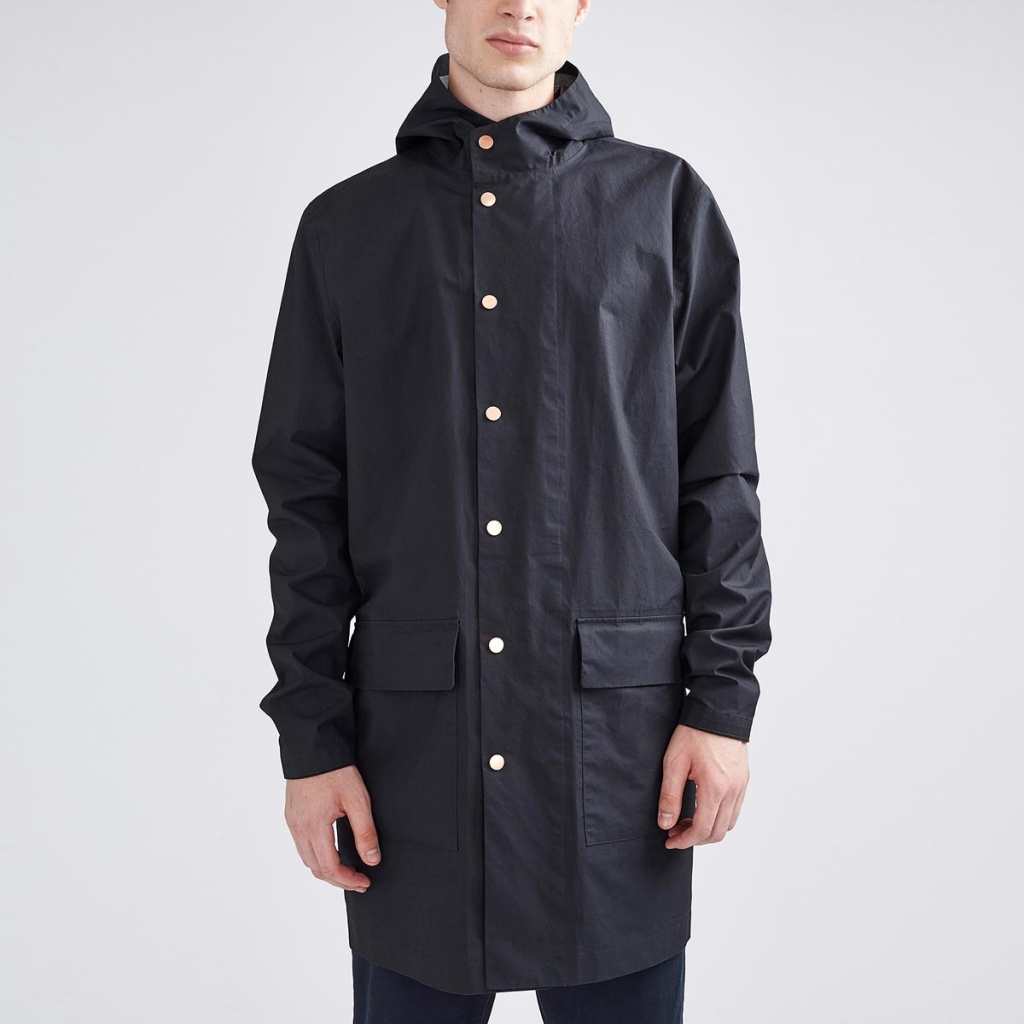 Owen Rain Jacket BP - Midnight