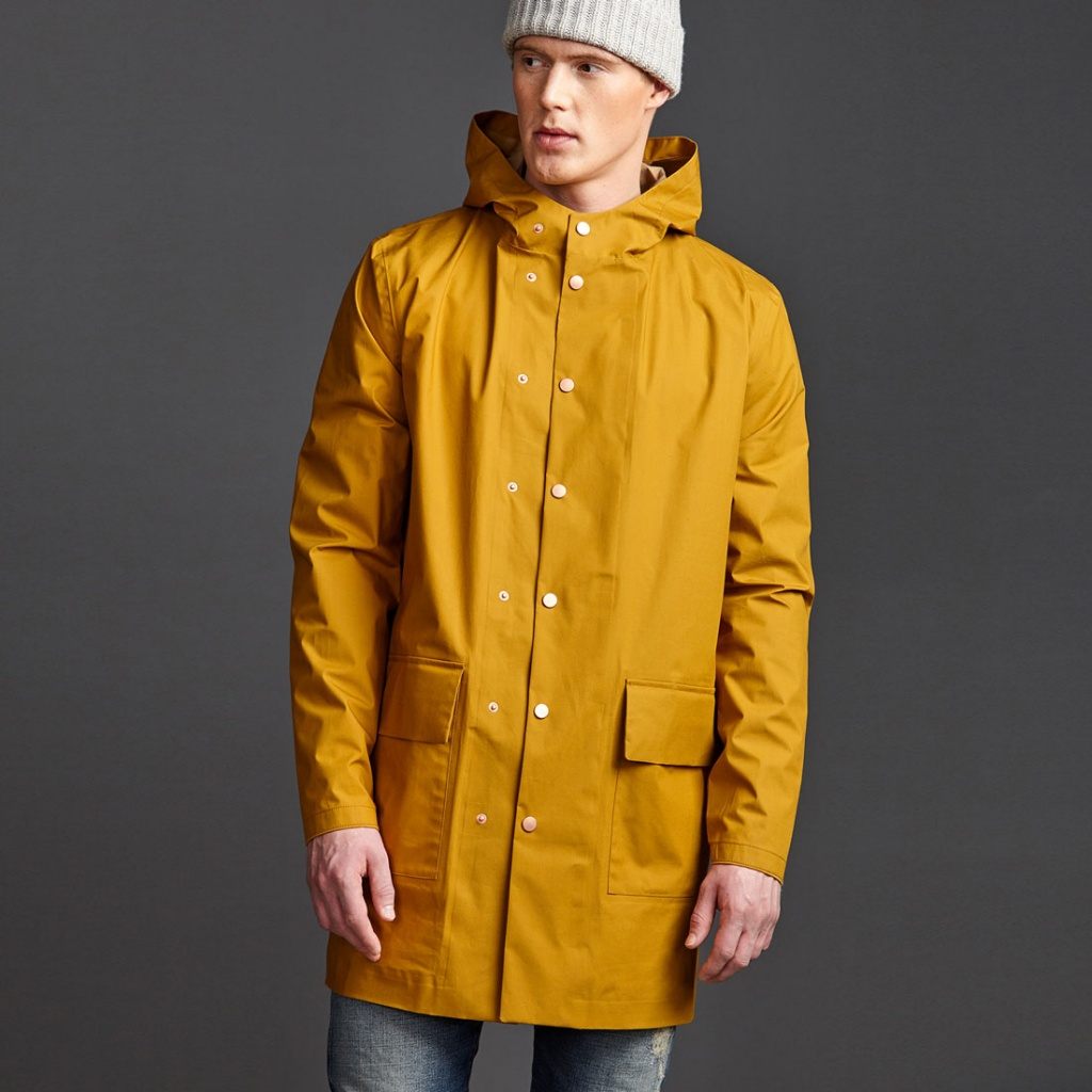 Orland Organic Raincoat - Madras