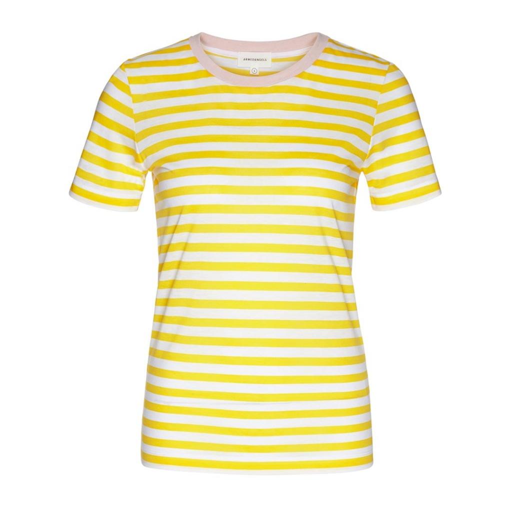 Lida Bold Stripe - White