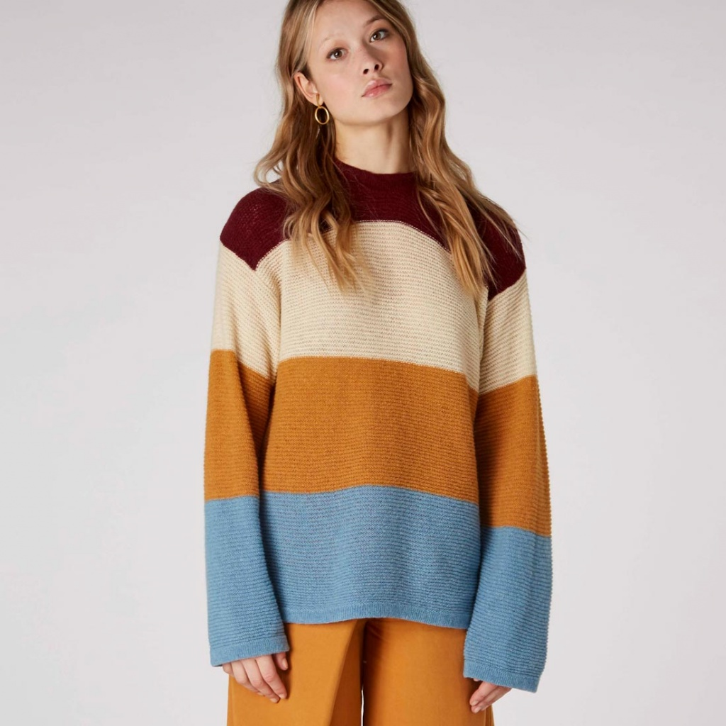 May Stripe - Multi Recycled