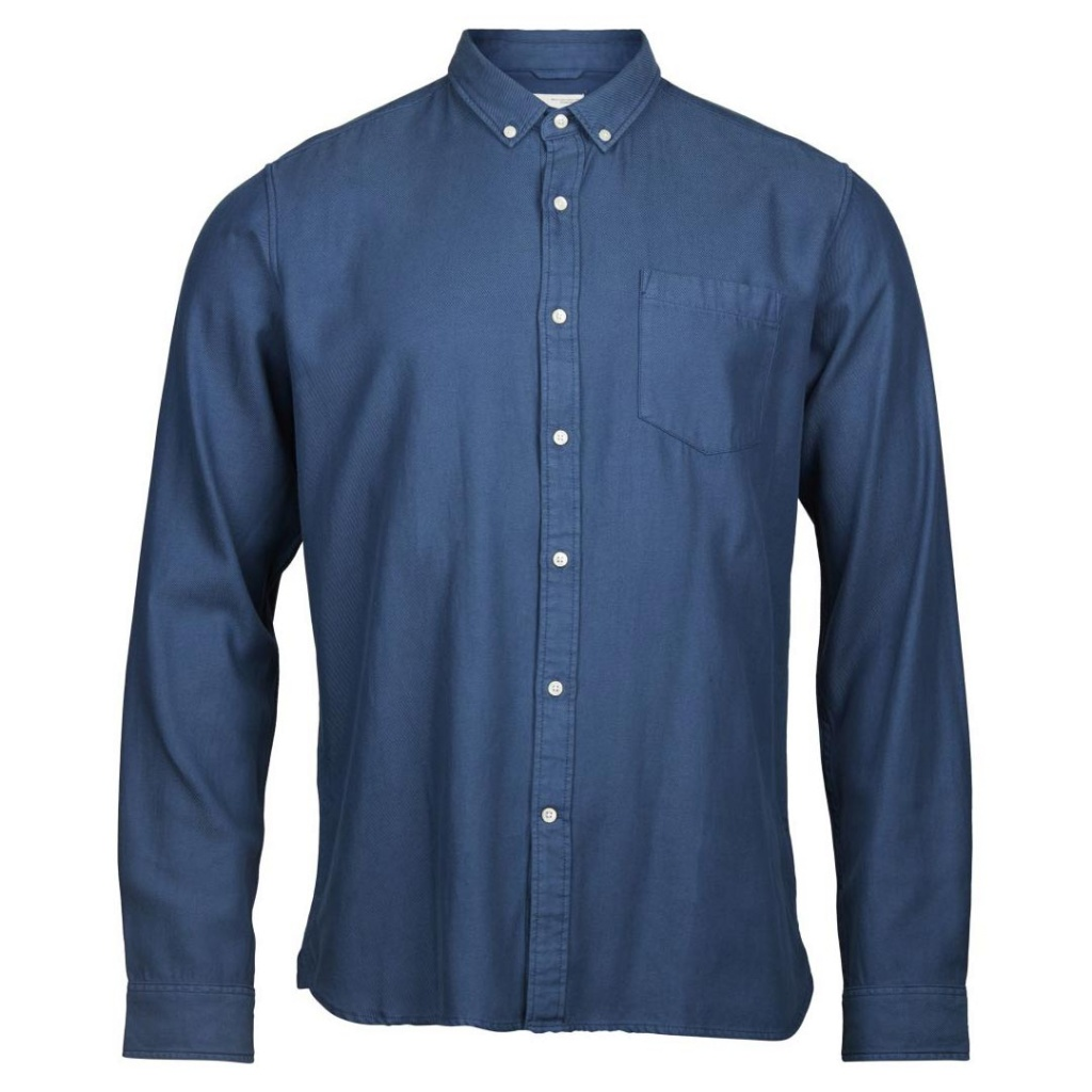 Tencel Twill Shirt - Insignia Blue