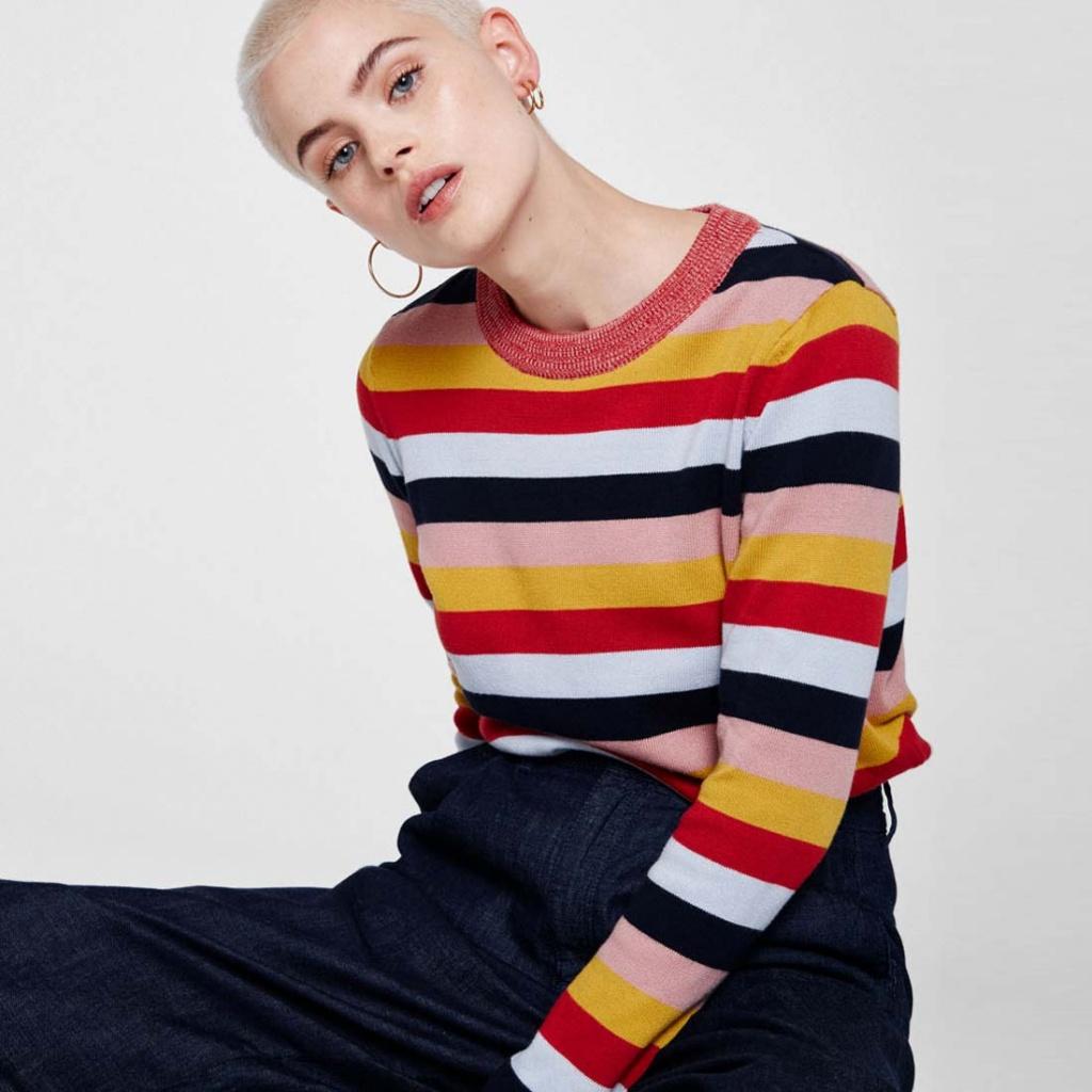Oxana - Multi Stripes