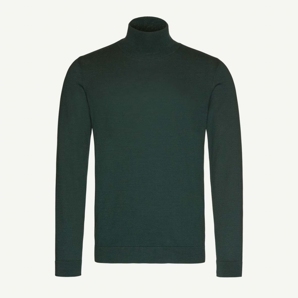 Glen Organic Polo - Deep green