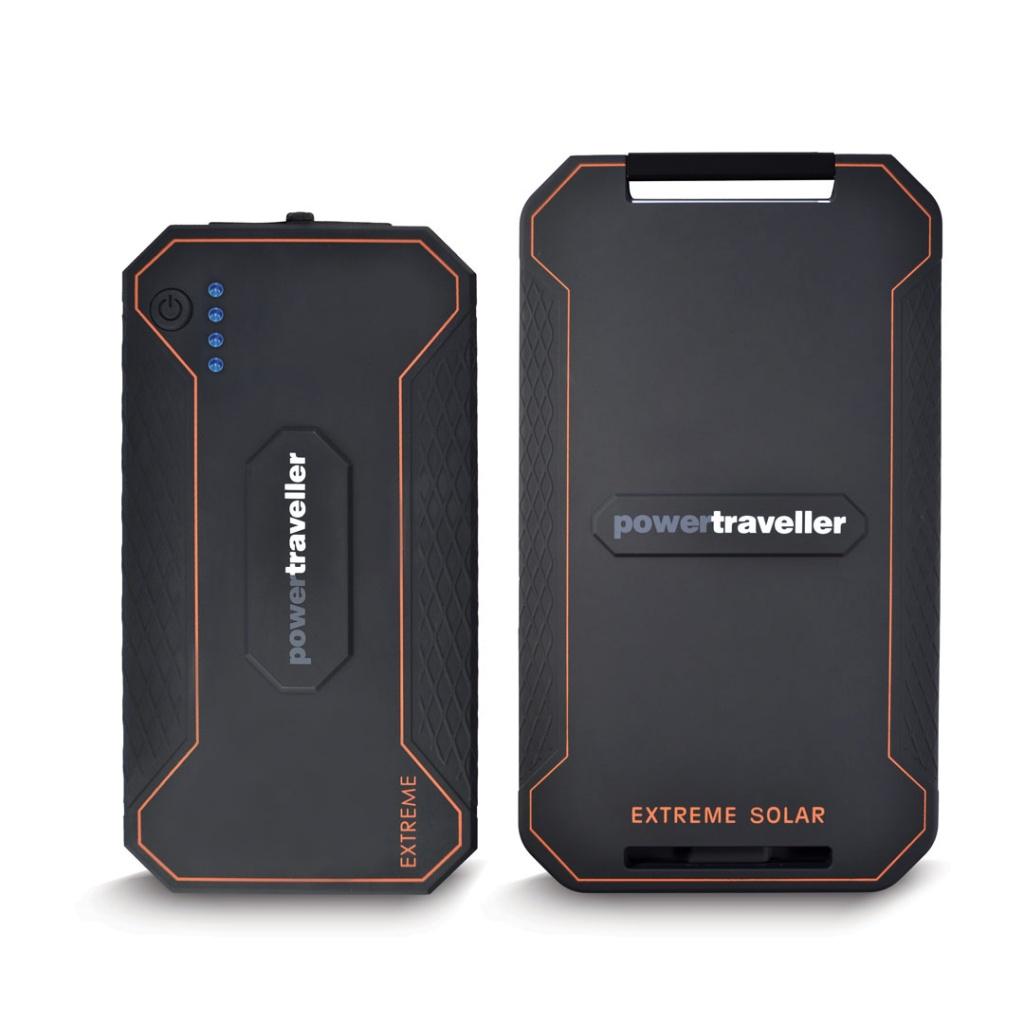 Extreme Solcellsladdare 12,000 mAh - Powertraveller