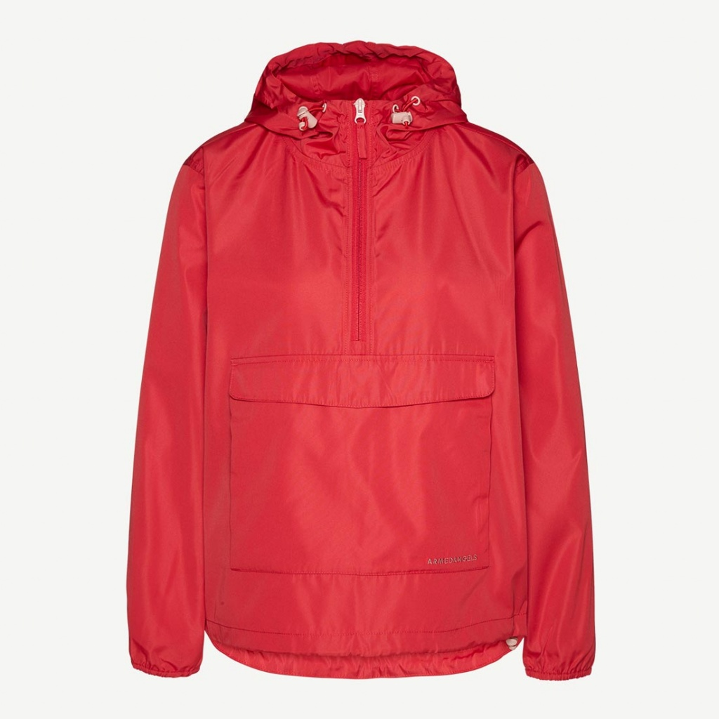 Ricarda Windbreaker - Scarlet Red