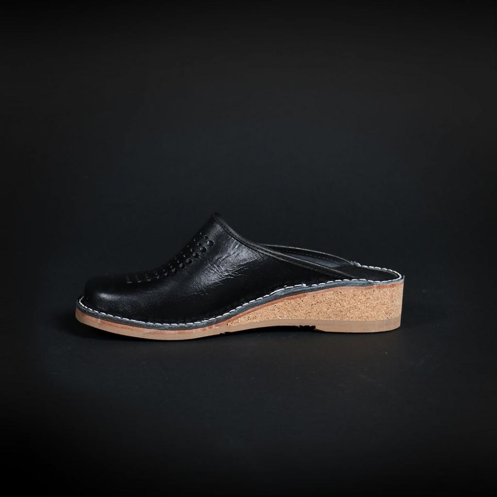 Gunilla Slippers - Svart