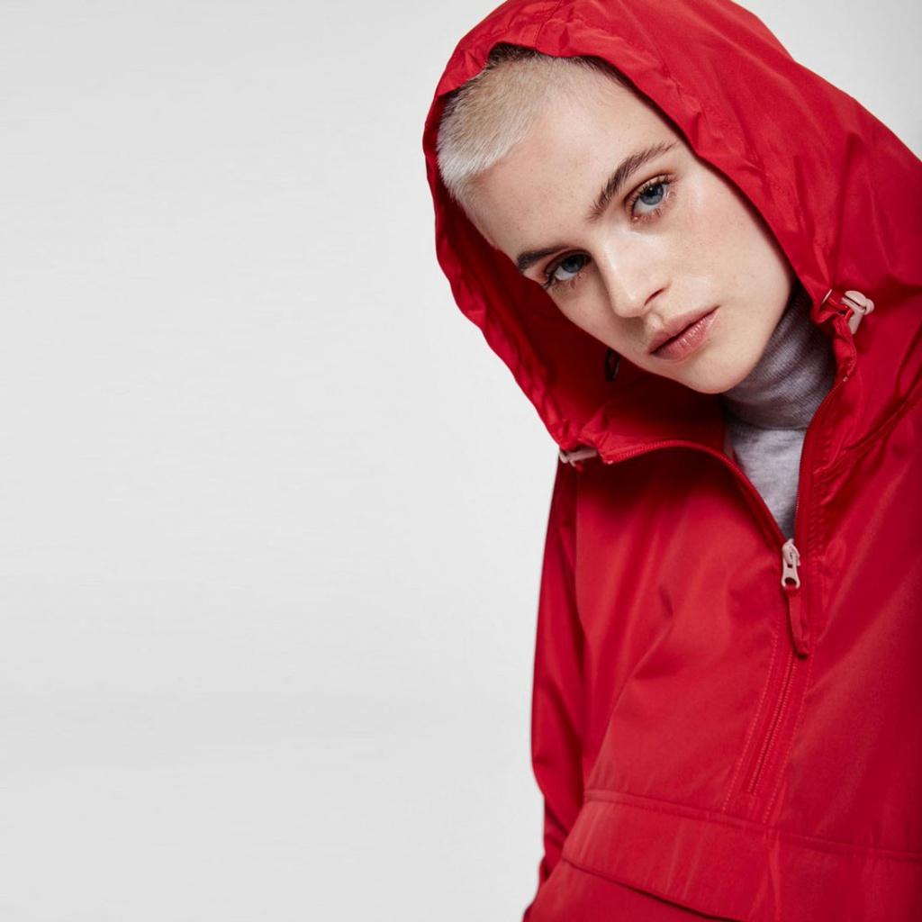 Ricarda Windbreaker - Scarlet Red