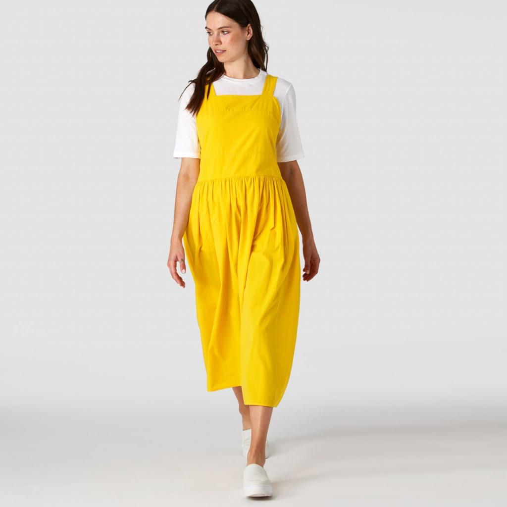 Xena Dress - Lemon