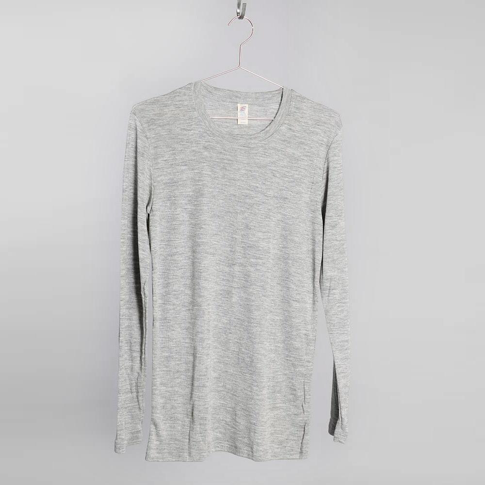 4ec88e9c Merino Silk Sweater HERR - Grey. Ekologisk merinoull & silke