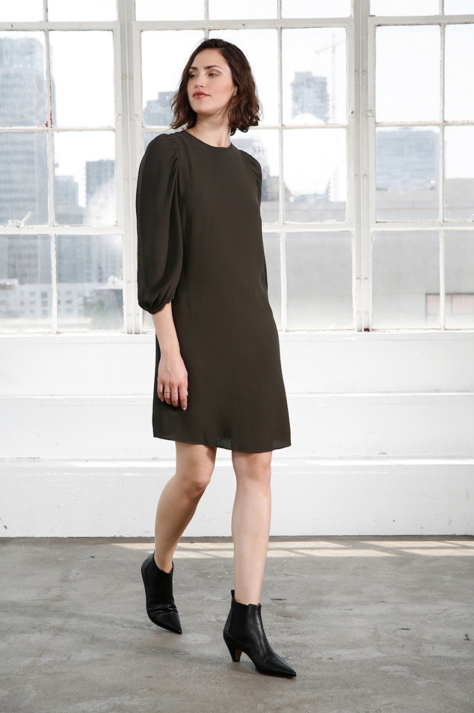 Bea Dress - Moss Green