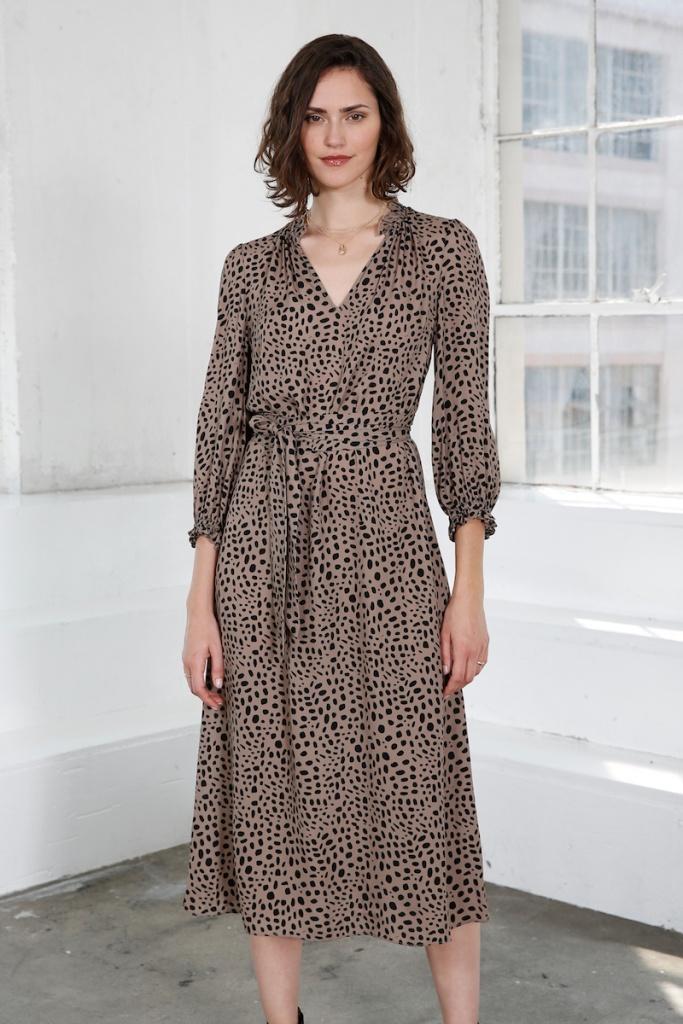 Dakota Dress - Spot Print
