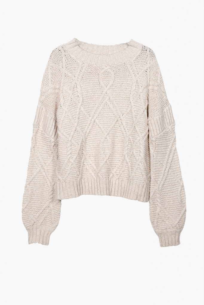 Aria Cable Knit Sweater