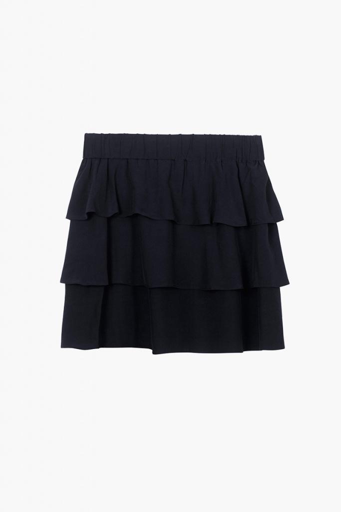 Ariana Mini Skirt - Dark Navy