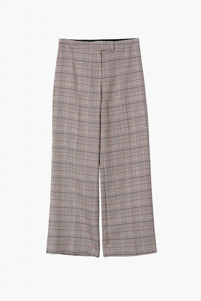 Dylan Trousers - Beige Check
