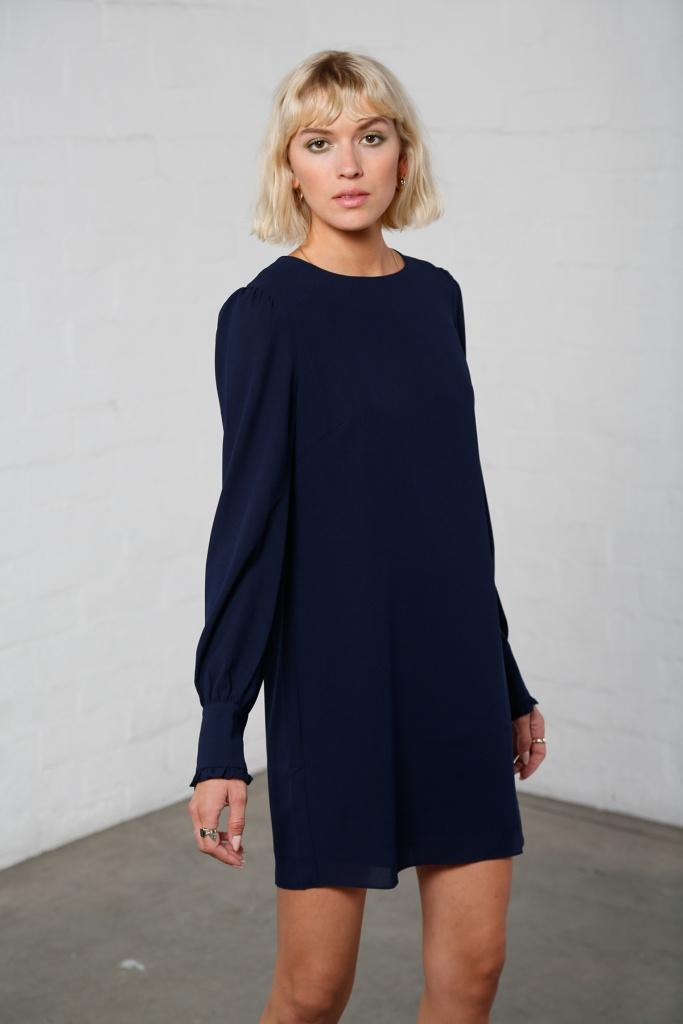 Dita klänning marinblå